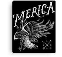 'Merica Eagle Canvas Print