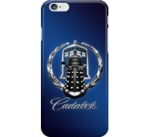 Cadalek in Tardis Blue iPhone Case/Skin