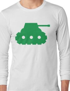 Mini Army Tank Long Sleeve T-Shirt