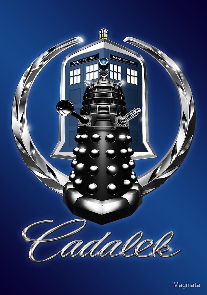 Cadalek in Tardis Blue by Magmata