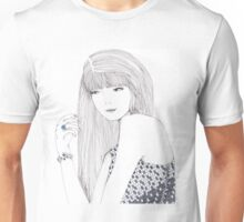 Haute Couture Fashion Illustration Portrait Unisex T-Shirt