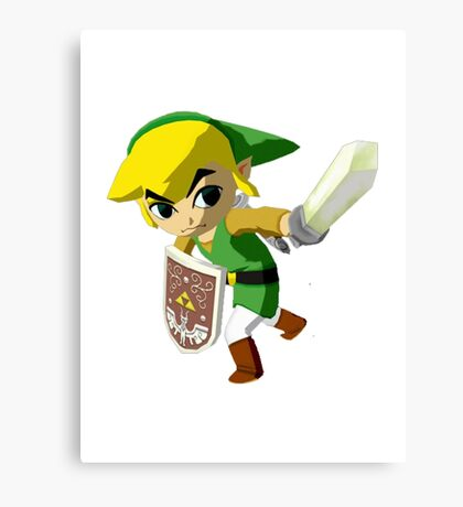 Link Windwaker Canvas Print
