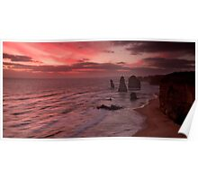 The Twelve Apostles - Port Campbell Poster