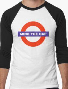 Mind The Gap Men's Baseball ¾ T-Shirt