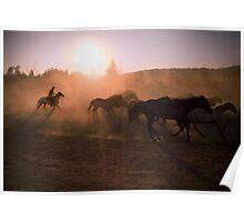 Wyoming Sunrise Poster
