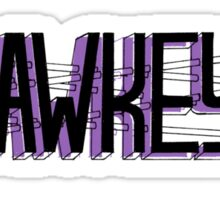 hawkeye (gosh i love arrows) Sticker