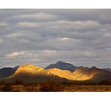 Sonoran Scenery Series ~ 3 ~  Spotlight Photographic Print