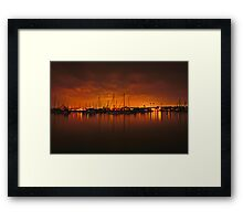 lost .. in the mists of time Framed Print