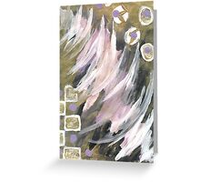 Abstract Breeze~ Greeting Card