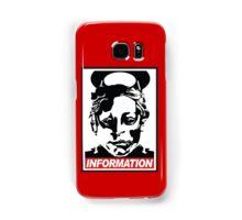 "Heavenly Host ""Information!"" Samsung Galaxy Case/Skin"