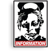 "Heavenly Host ""Information!"" Canvas Print"