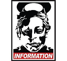 "Heavenly Host ""Information!"" Photographic Print"