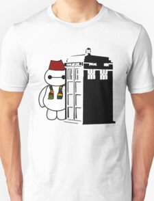 Baymax in the Tardis T-Shirt