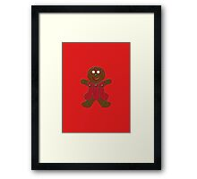 Gingerbread Woman Framed Print