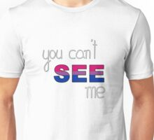 Bisexuality: Invisible Identity Unisex T-Shirt