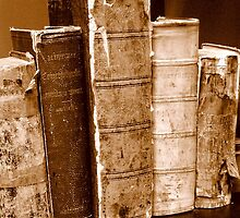 Tattered Books by Dana Roper