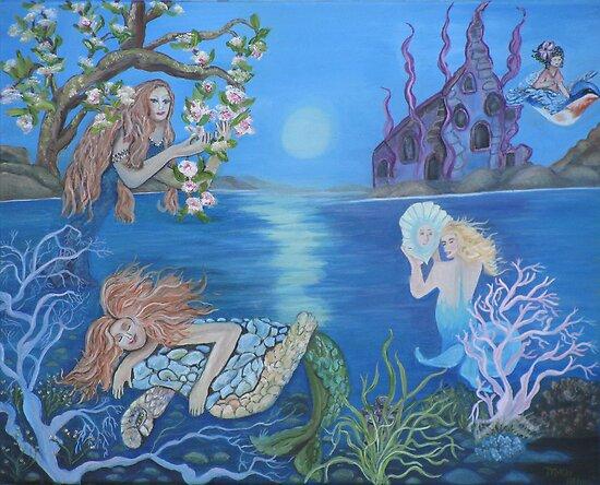 Enchanted Estuary by Mikki Alhart