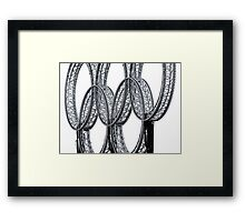 One Dream Framed Print