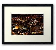 Night Time Wonderland Framed Print