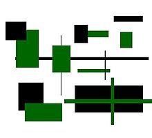 Rectangular Pattern 8  Photographic Print