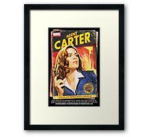 Agent Carter Short Poster Framed Print