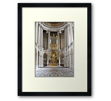 Palace of Versailles. Paris, France. Framed Print
