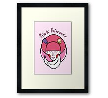 Pink Princess Framed Print