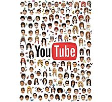 YouTubers Photographic Print