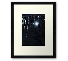 Happy New Year, Blue Moon Framed Print