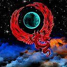 Scarlet Moon Dragon by shutterbug2010