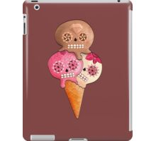 Sugar Skull Ice Cream Cone iPad Case/Skin