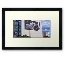 Tribute to a Patriot, New England's Tom Brady  Framed Print
