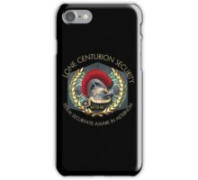 Lone Centurion Security iPhone Case/Skin