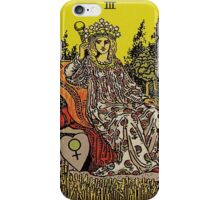 The Empress Tarot iPhone Case/Skin