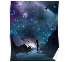 Neverland at Night Poster