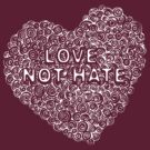 Circles in my heart - love not hate by Sarah Trett