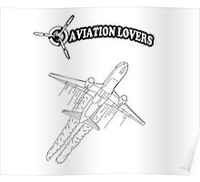 Aviation Lovers Poster
