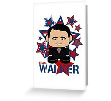 Team Walker Politico'bot Toy Robot Greeting Card