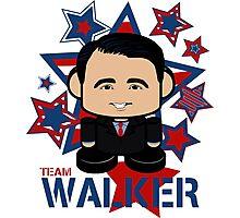 Team Walker Politico'bot Toy Robot Photographic Print