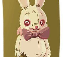 Evil Easter Bunny by AdeleKThomas