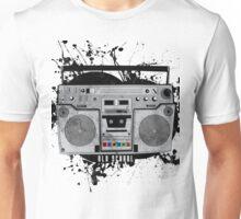 old school boom box Unisex T-Shirt