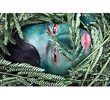Green Face For Green Earth Photographic Print