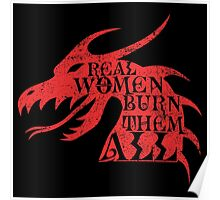 Real Women Burn Them All Poster