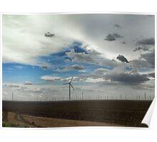 West Texas Wind Farm Poster