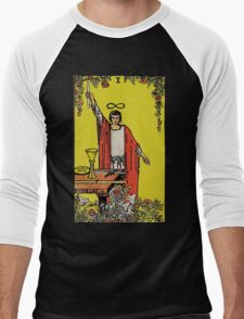 The Magician Tarot Men's Baseball ¾ T-Shirt
