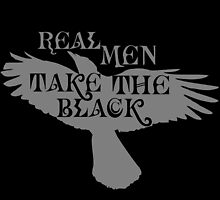 Real Men Take the Black by Magmata