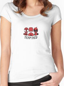 TEAM RED Women's Fitted Scoop T-Shirt