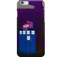 Cheshire of time and space iPhone Case/Skin