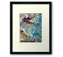 Forever Blue Framed Print