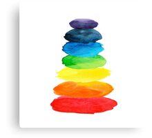 Watercolor  rainbow Canvas Print
